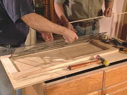 add glass to kitchen cabinet doors how to make cabinet doors with glass panels update kitchen