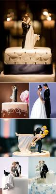 themed wedding cake toppers different and wedding gifts and cake toppers