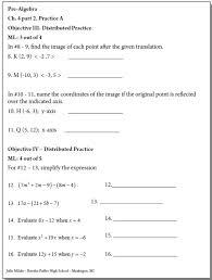 4th grade 4th grade algebra worksheets printable worksheets