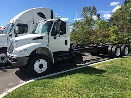 international cab chassis trucks for sale