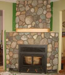 terrific white stone veneer for fireplace images decoration ideas