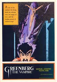 marvel comics of the 1980s 1985 greenberg the vampire house ad