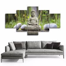 buddha home decor statues elegant azqsd diy d diamond painting