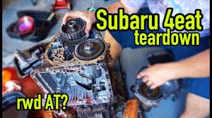 subaru automatic transmission tearing down a subaru automatic transmission part 1 youtube