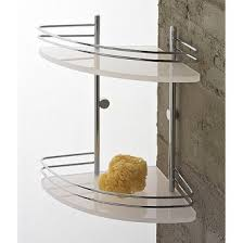 Glass Bathroom Corner Shelves Bathroom Shelves Thebathoutlet