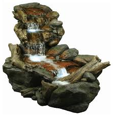 Outdoor Water Fountains With Lights Stunning Battery Powered Outdoor Fountain 45 2 Tier Solar Battery