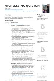 Photo Editor Resume Sample by Download Writer Editor Resume Haadyaooverbayresort Com