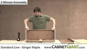 2 minute kitchen cabinet assembly cabinet giant high quality