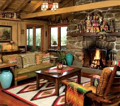 Love The Pops Of Turquoise In This Brightly Colored Western Living - Western decor ideas for living room