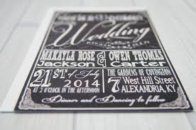 Cheap Wedding Invitations With Rsvp Cards Included Chalkboard Wedding Invitations With Rsvp Cards And Address