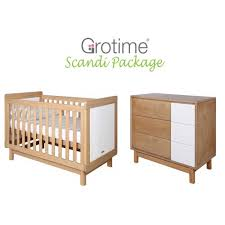 Grotime Change Table Scandi Package