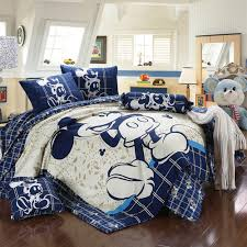 Mickey Mouse Bed Sets Blue Mickey Mouse Bedding Vine Dine King Bed
