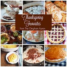 thanksgiving favorites everything but the turkey the gingham apron