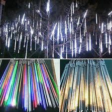 shooting star christmas lights christmas icicle ebay