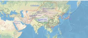 Byzantine Empire Map The Tang Empire With Directly Controlled Territory And Military