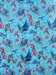 superman wrapping paper superman batman flash gift wrapping paper 60 sq ft