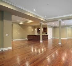 fantastical hardwood floor in basement refinishing and sanding in