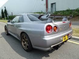 harlow jap autos uk stock nissan skyline r34 gtr v spec