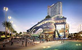 shopping mall terminal21 shopping mall pattaya construction and reaching