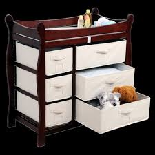 Cherry Wood Baby Changing Table Changing Table At Target For Your Nursery Room Homesfeed