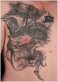 Nautical Tattoos by 42 Best Nautical Mermaid Tattoos Images On Pinterest Mermaid