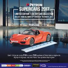 red porsche 918 the red porsche 918 spyder 1 24 scale petron corporation