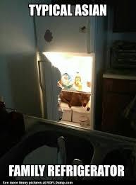 Fridge Meme - typical asian fridge meme funny fridge lol dog asian meme