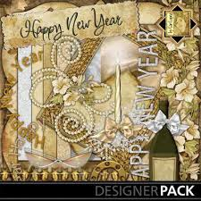 new years kits digital scrapbooking kits happy new year clopez celebrations