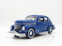 ixo mus050 1 43 opel kapitän 4 door sedan second generation 1950 blu