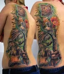 half back by csaba kolozsvari design of tattoosdesign of