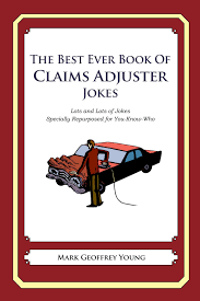 buy the best ever book of claims adjuster jokes in cheap price on