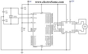 interfacing stepper motor with using keil c at89c51 bipolar l293d