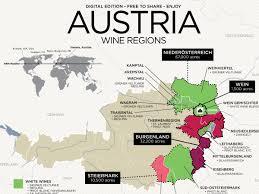 Map Austria Get To Know Austrian Wine With Map Wine Folly