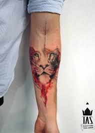 best 25 watercolor lion tattoo ideas on pinterest watercolor