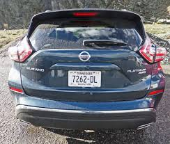 nissan platinum 2015 2015 nissan murano platinum awd resetting the standard review