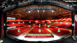 birmingham nia national indoor arena seating plan view from stage