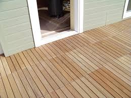 Teak Floor Tiles Outdoors by Eco Decking Tiles Premium Interlocking Teak Deck Tile System