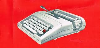 oz typewriter olivetti lettera 35 portable typewriter and manual
