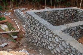How To Build A Stone by How To Build A Rock Wall And Transform Your Home Into A Fortress