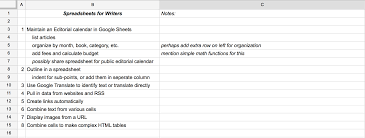 How To Create A Spreadsheet In Word Write Faster With Spreadsheets 10 Shortcuts For Composing
