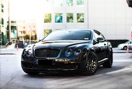 bentley wrapped dechrome black out car folie