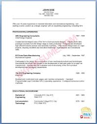 Resume Sample Mechanical Engineer by Resume In Mechanical Engineering Free Resume Example And Writing