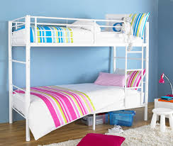 Bedroom Bed Comforter Set Bunk by Gorgeous Black Polished Wrought Iron Bunk Beds With Stairs On The