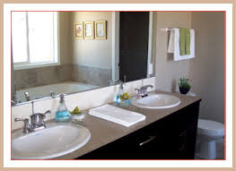 bathroom staging ideas after home staging adding the white towels and artwork as well as