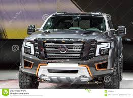 nissan titan detroit auto show detroit january 17 the 2017 nissan titan pickup truck at the