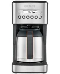 crux crx14541 10 cup thermal coffee maker created for macy u0027s