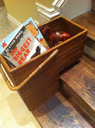 basket on the stairs a grateful life