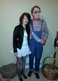 Chucky Bride Halloween Costumes Chucky Bride Chucky Couple Costume
