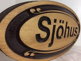 156 Best Home Sweet Home by Oval Personalized Sign Wood Carved Family Last Name Sign
