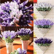 lavender bouquet 10heads artificial silk lavender flower lavender bouquet